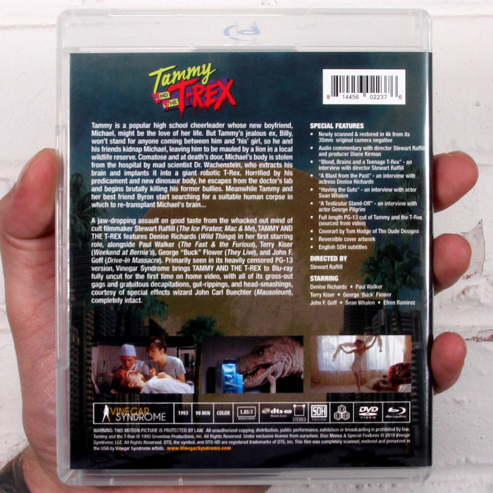 Tammy and the T-Rex - Blu-Ray/DVD - Sealed