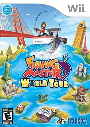 Fishing Master World Tour - Wii - in Case