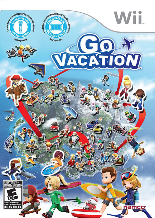 Go Vacation - Wii - in Case