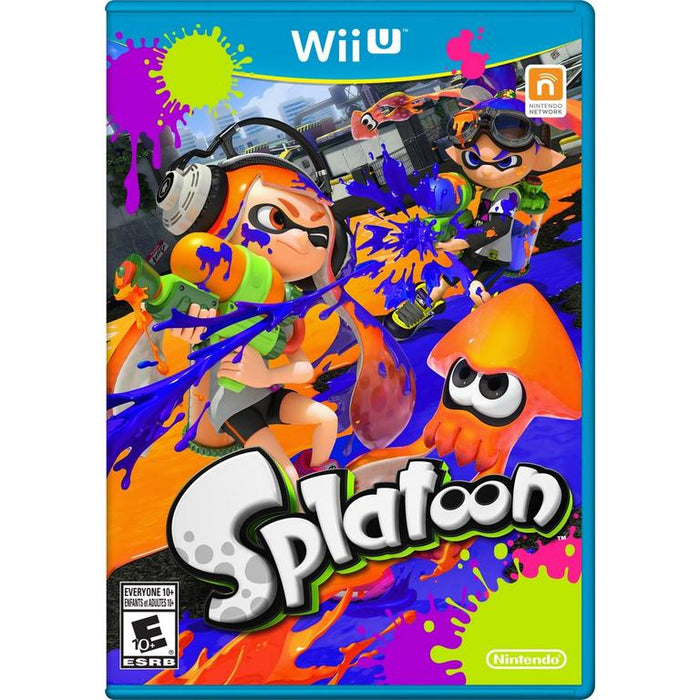 Splatoon - Wii U- in Case