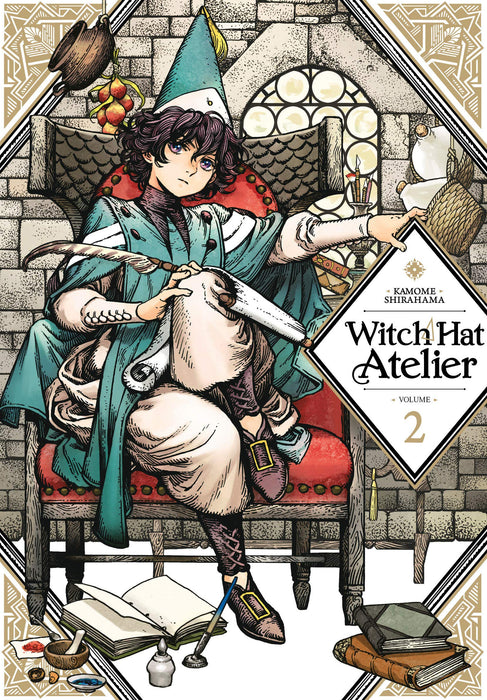Witch Hat Atelier Vol 02