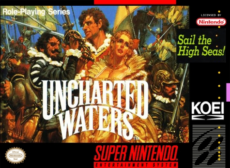 Uncharted Waters  - SNES - Loose