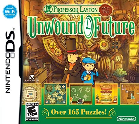 Professor Layton - Unwound Future - DS - Loose