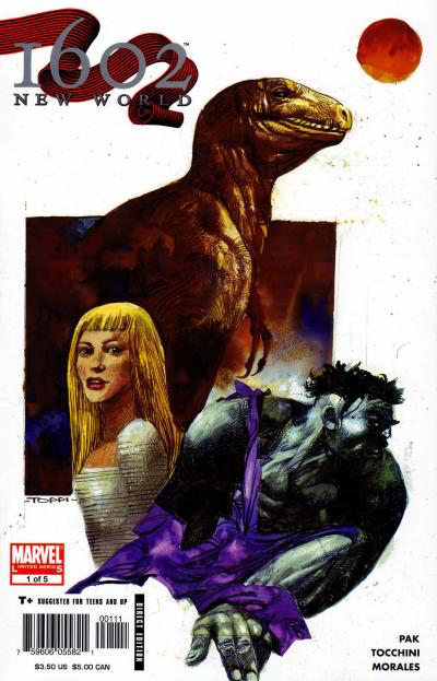 Marvel 1602: New World - #1