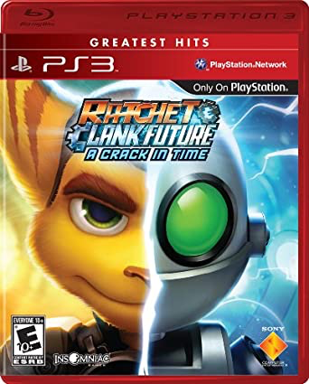 Ratchet & Clank Future - A Crack in Time - Playstation 3 - in Case