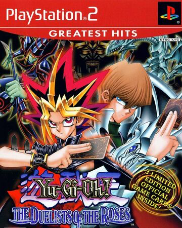 Yu-Gi-Oh! The Duelist of the Roses - Playstation 2 - Complete