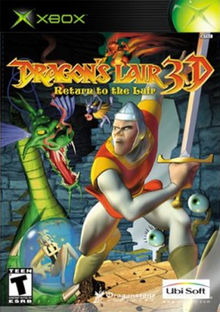 Dragon's Lair 3D - Xbox - in Case