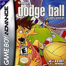 Super Dodge Ball - Game Boy Advance - Complete