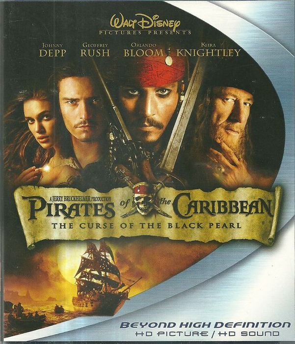 Pirates of the Caribbean: The Curse of the Black Pearl - Blu-Ray