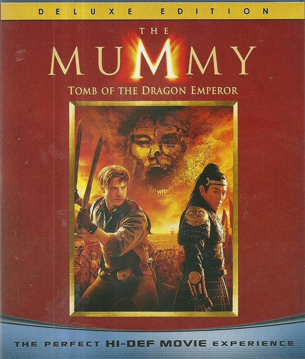 Mummy: Tomb of the Dragon Emperor - Blu-Ray