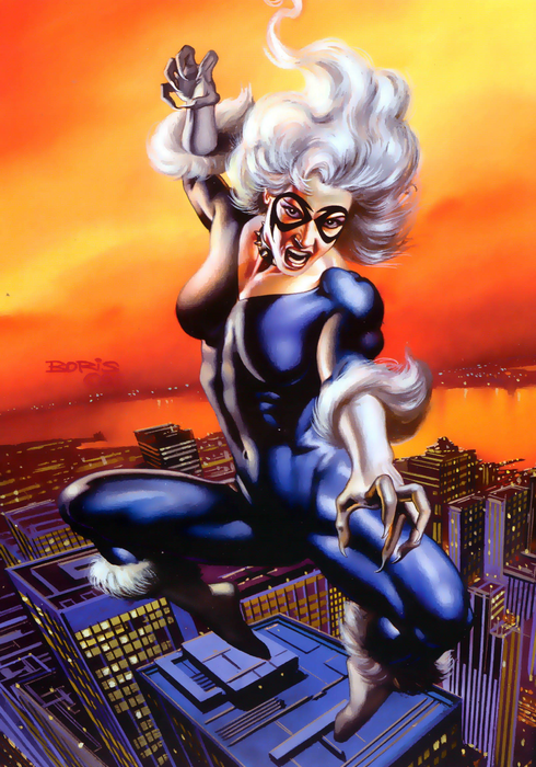 Marvel Masterpieces 1996 - 04 - Black Cat