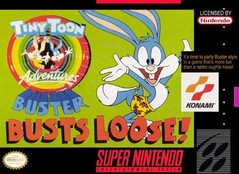 Tiny Toon Adventures - Buster Busts Loose  - SNES - Loose