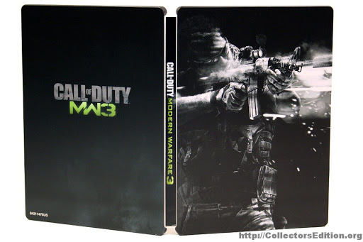 Call of Duty Modern Warfare 3 - Steelbook - Xbox 360 - in Case
