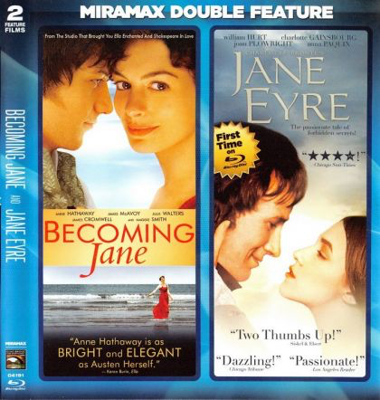 Becoming Jane and Jane Eyre - Blu-Ray