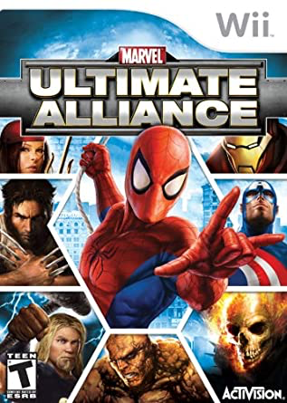 Ultimate Alliance - Wii - in Case