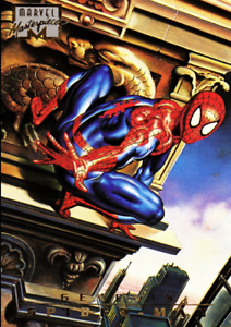 Marvel Masterpieces 1996 - 85 - Spider-Man