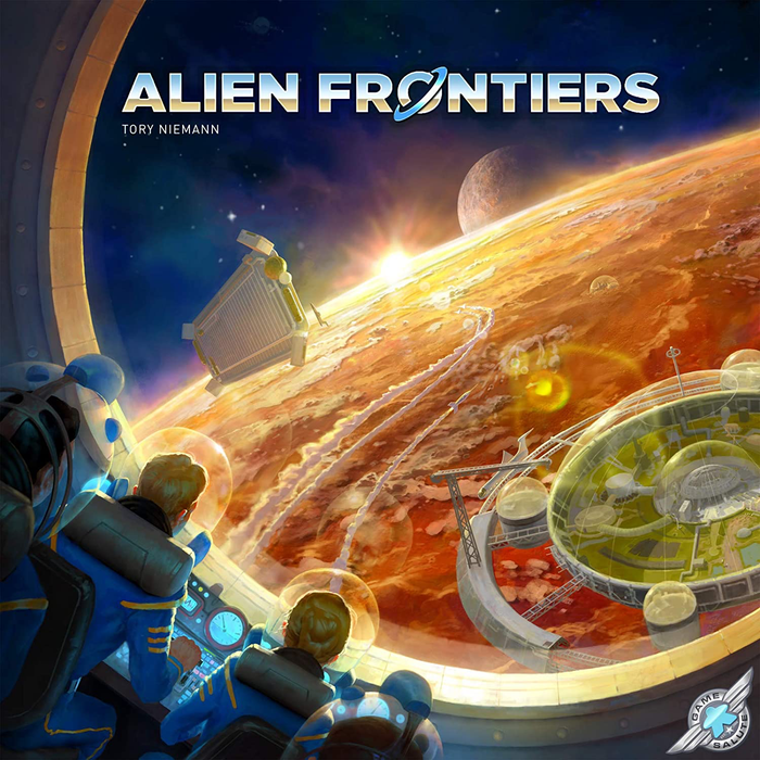 Alien Frontiers and Factions Expansion - a Two Box Deal!