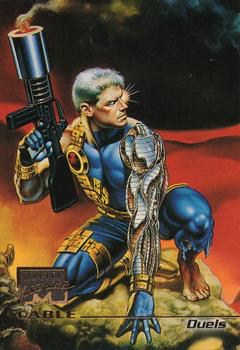 Marvel Masterpieces 1996 - 55 - Cable