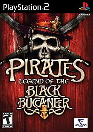 Pirates - Legend of the Black Bucaneer - Playstation 2 - Complete