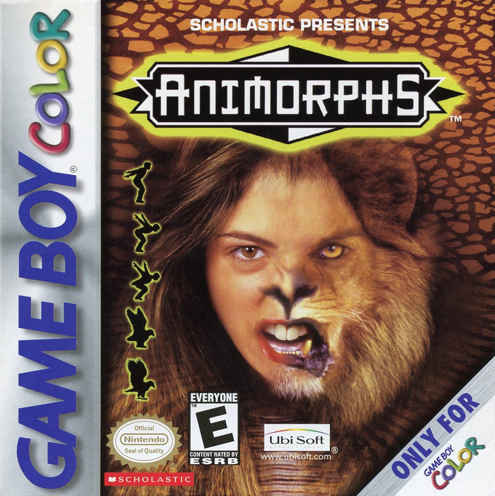 Animorphs - Game Boy Color - Loose