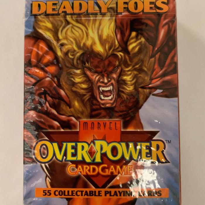 Marvel Overpower - Deadly Foes Starter Deck - Sealed