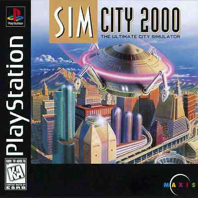 Sim City 2000 - Playstation 1 - in Case