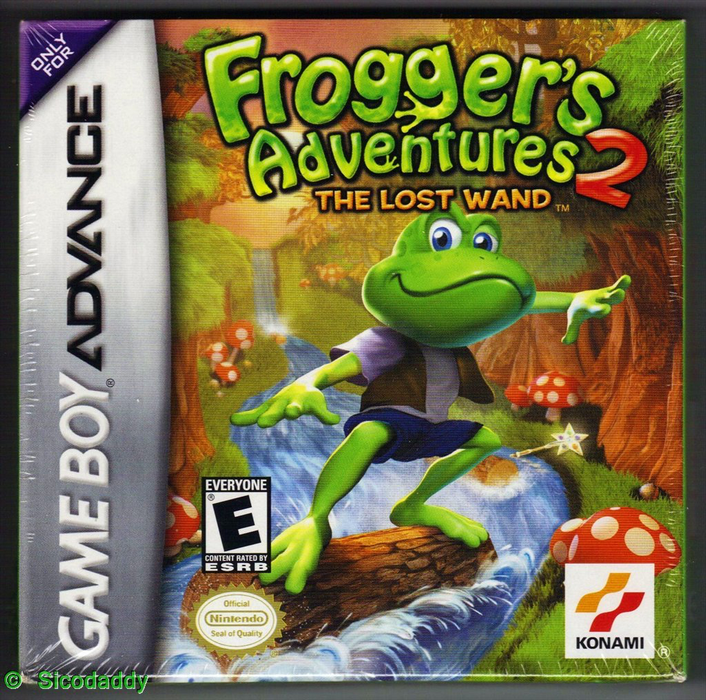 Frogger's Adventures 2 - Game Boy Advance - Loose