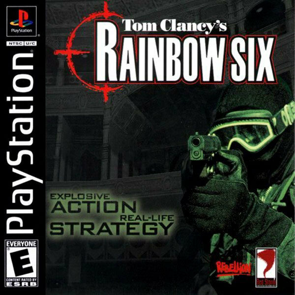 Tom Clancy's Rainbow Six - Playstation 1 - in Case