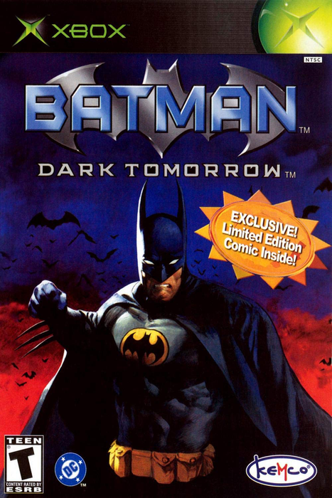 Batman - Dark Tomorrow - Xbox - in Case