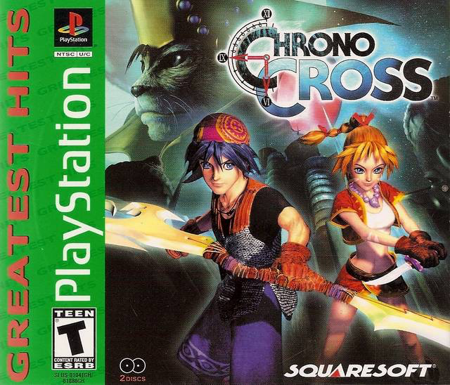 Chrono Cross - Greatest Hits - Playstation 1 - Sealed