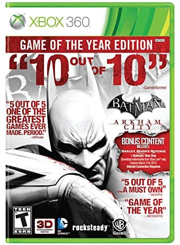 Batman Arkham City - Game of the Year Edition - Xbox 360 - in Case