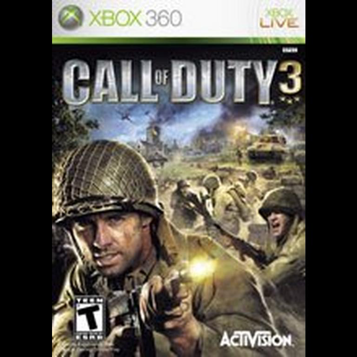 Call of Duty 3 - Xbox 360 - in Case