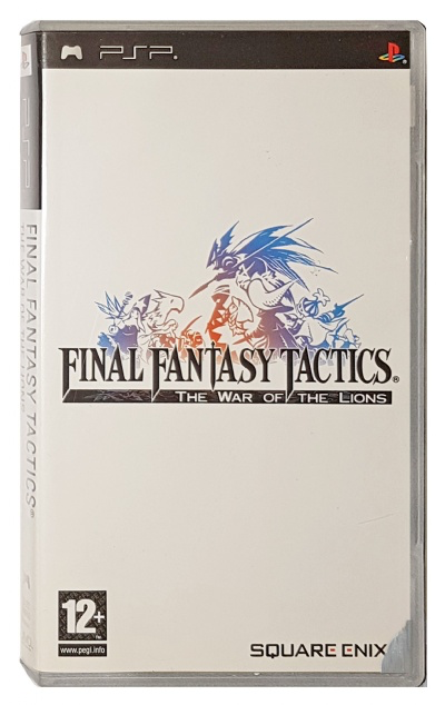 Final Fantasy Tactics - The War of the Lions - PSP - Complete