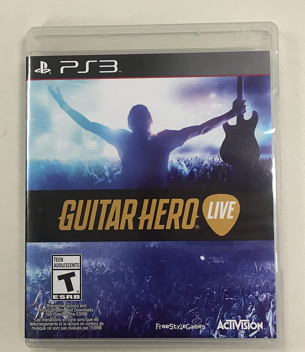 Guitar Hero Live - Playstation 3 - in Case