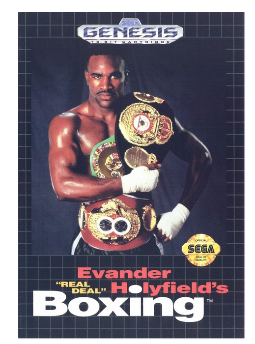 Evander Holyfield's Real Deal Boxing - Genesis - Loose