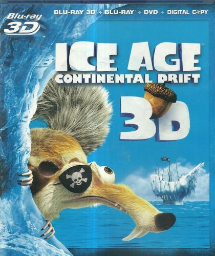 Ice Age: Continental Drift - Blu-Ray 3D