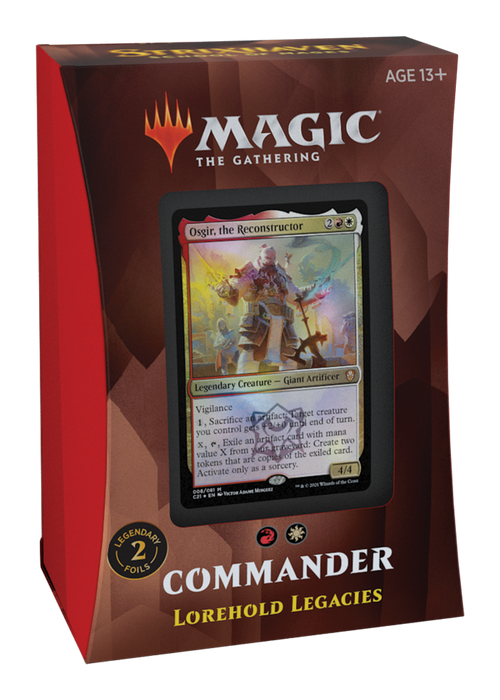Magic the Gathering CCG: Strixhaven - School of Mages Commander Deck - Lorehold Legacies