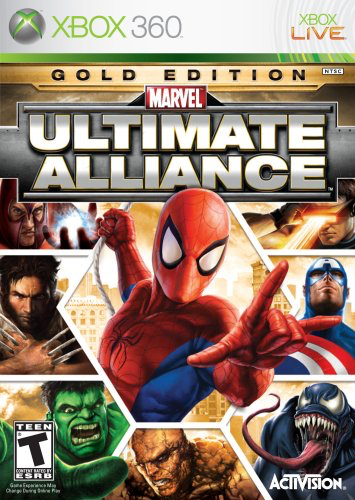 Ultimate Alliance - Gold Edition - Xbox 360 - in Case
