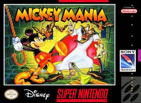 Mickey Mania - SNES - Loose