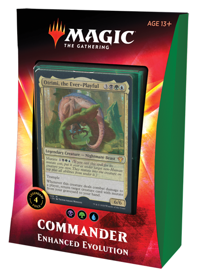 Magic the Gathering CCG: Commander - Enhanced Evolution