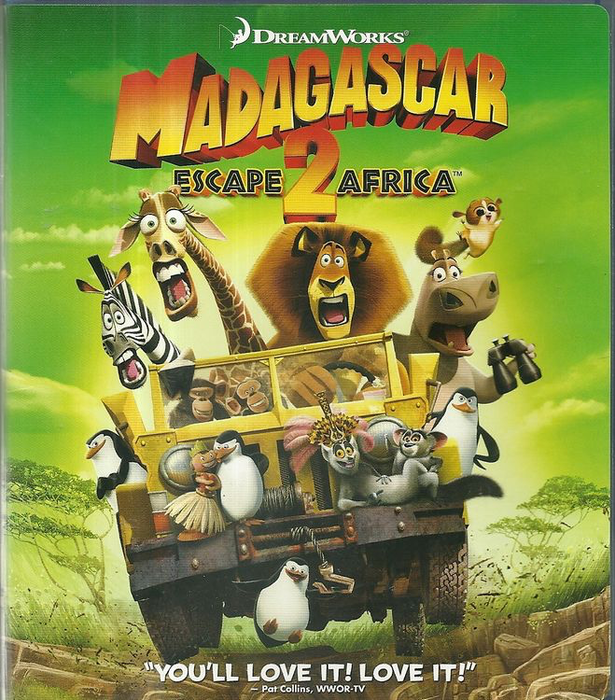 Madagascar 2: Escape 2 Africa - Blu-Ray