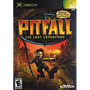 Pitfall - The Lost Expedition - Xbox - in Case