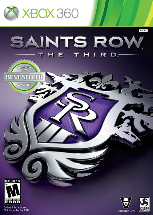 Saints Row the Third - Xbox 360 - in Case