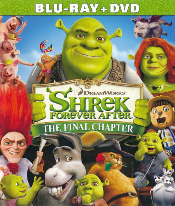 Shrek Forever After - Blu-Ray