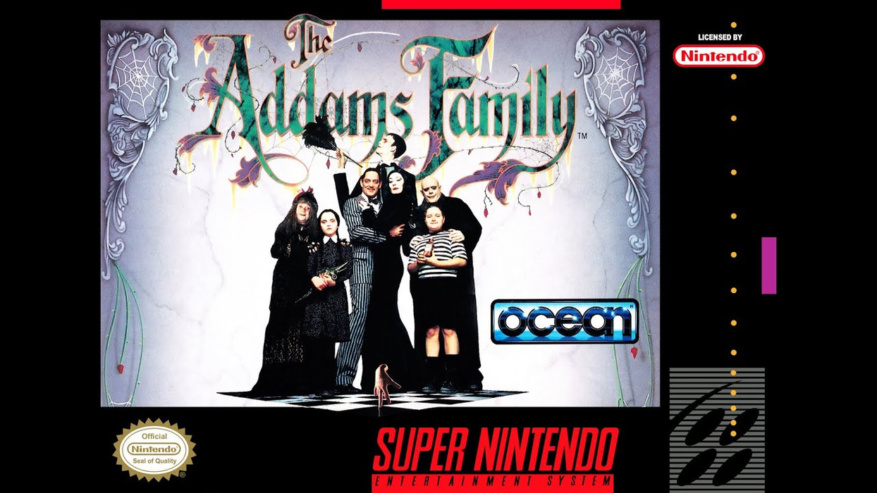 Addams Family  - SNES - Loose