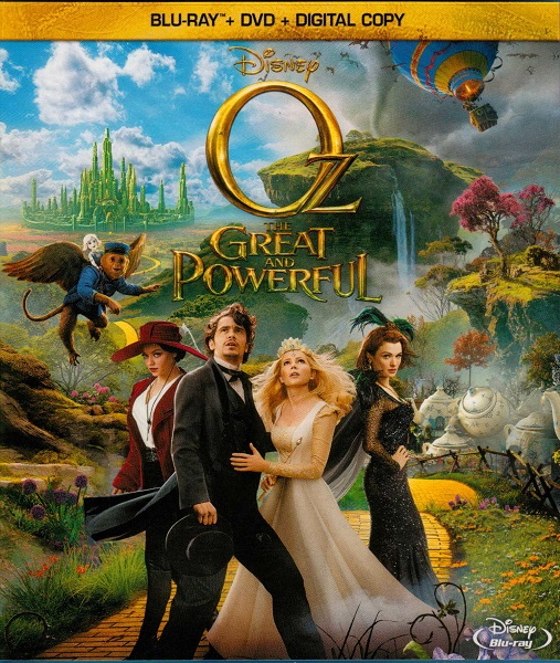 Oz The Great and Powerful - Blu-Ray 3D