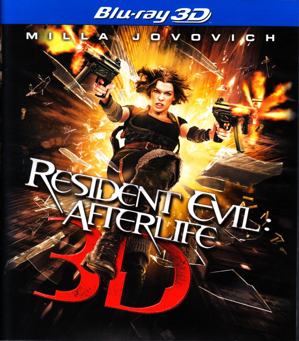 Resident Evil: Afterlife 3D - Blu-Ray
