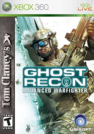 Tom Clancy's Ghost Recon Advanced Warfighter - Xbox 360 - in Case