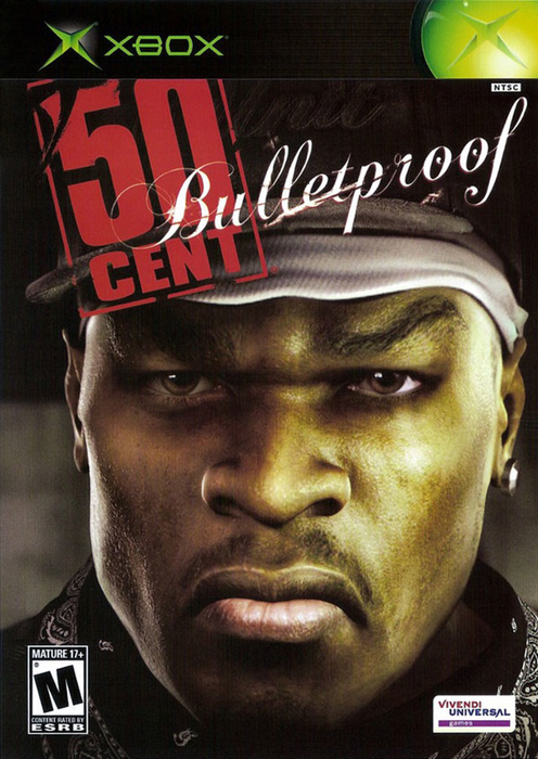 50 Cent - Bulletproof - Xbox - in Case