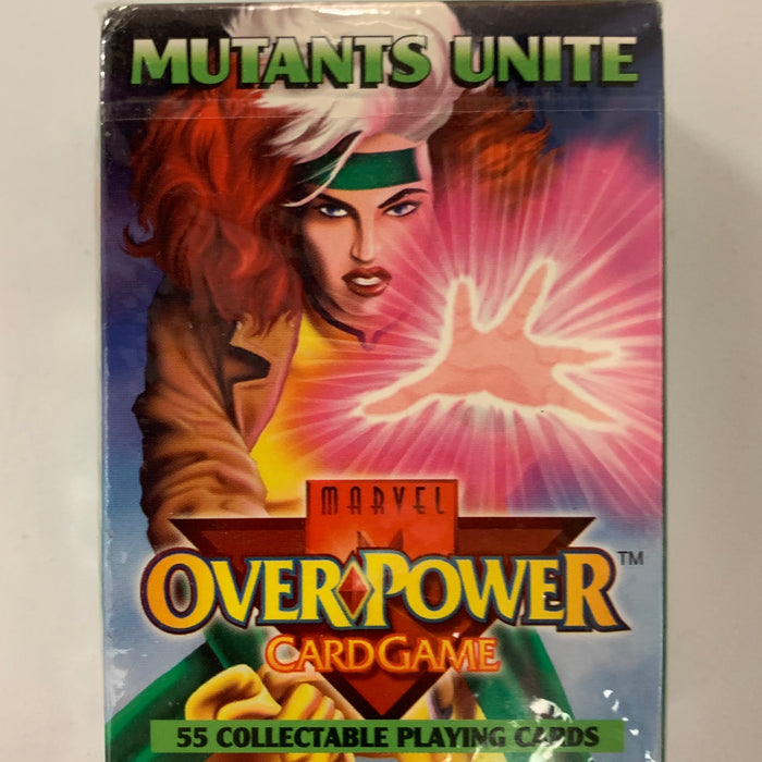 Marvel Overpower - Mutants Unite Starter Deck - Sealed